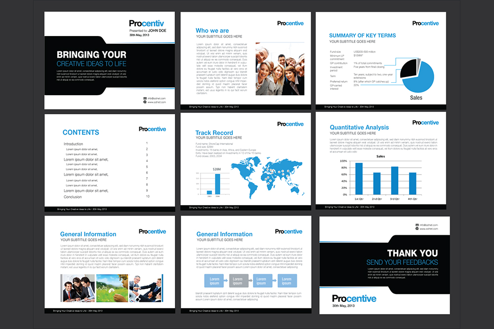 Power Point presentation Design